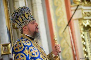 Проповідь Блаженнійшого Митрополита Київського і всієї України Епіфанія в день святаУспіння Божої Матері